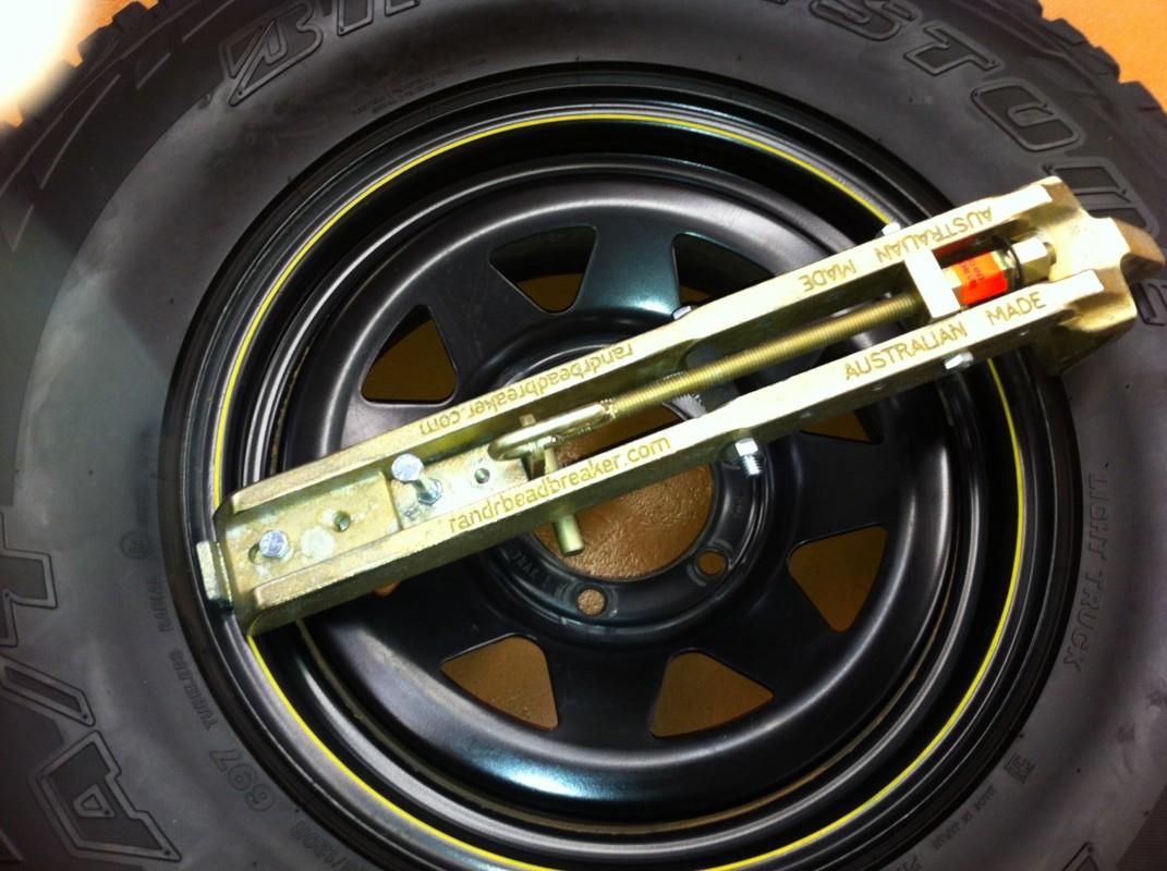r r bead breaker road equipment